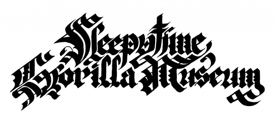 Sleepytime Gorilla Museum Lettering by butcherBaker aka Mike Bennewitz