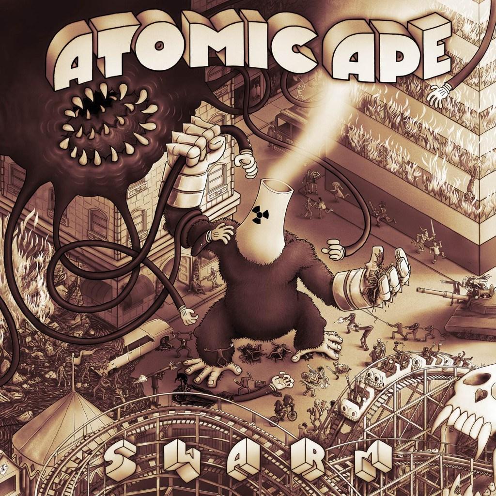 Atomic Ape Swarm Cover By butcherBaker Bennewitz Sonofwitz