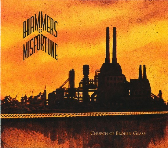 Cover: Hammers of Misfortune Church of Broken Glass by butcherBaker aka Mike Bennewitz