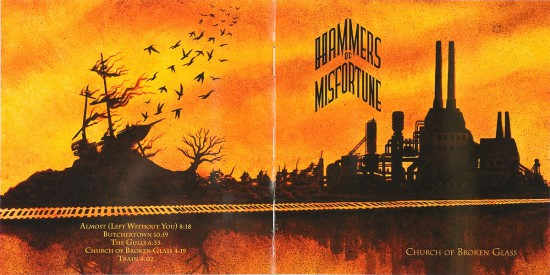 booklet: Hammers of Misfortune Church of Broken Glass by butcherBaker aka Mike Bennewitz