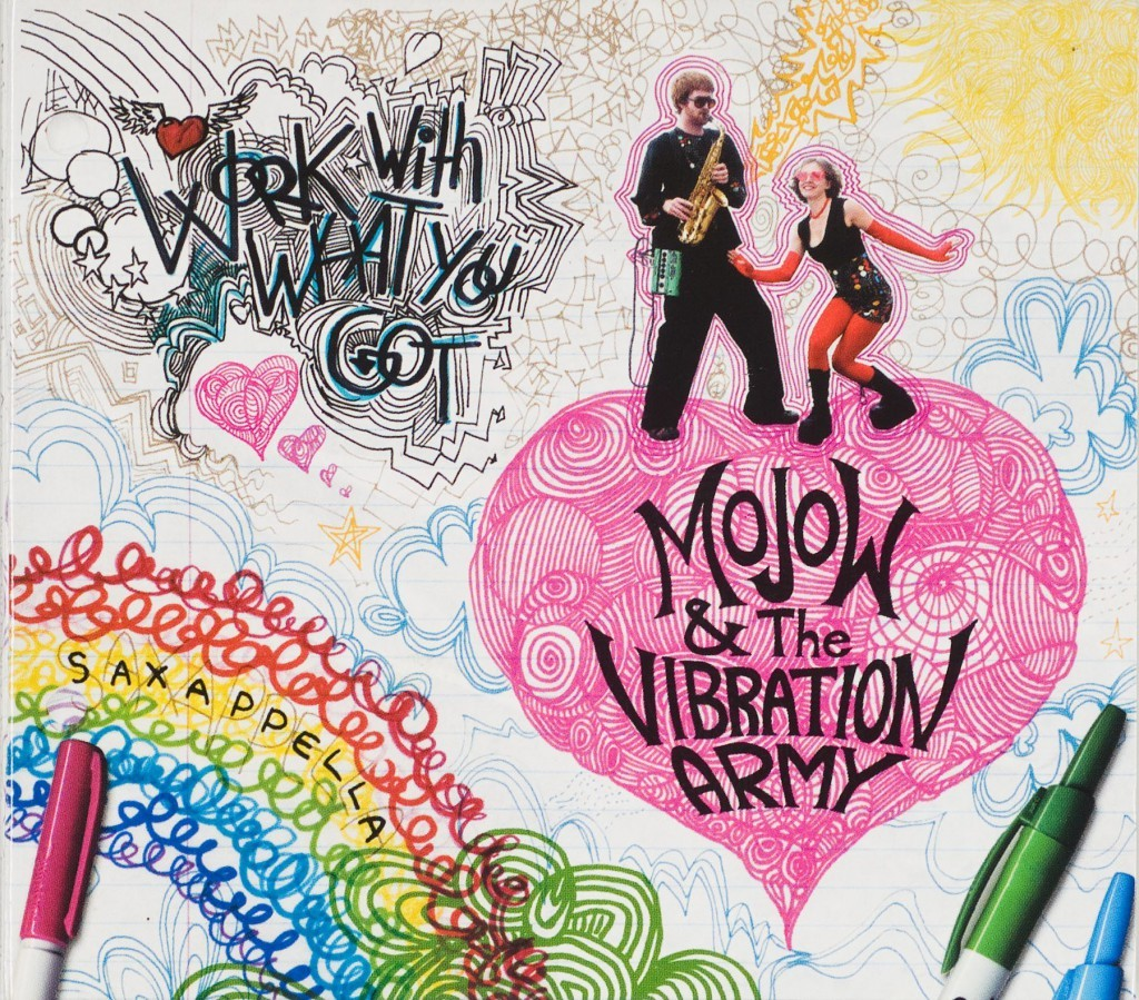 Cover: Mojow & the Vibration Army WWWYG by Mike Bennewitz aka butcherBaker