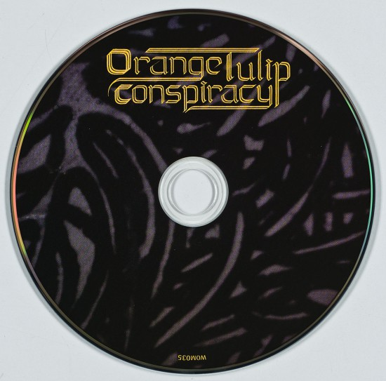 Orange Tulip Conspiracy Disc by butcherBaker aka Mike Bennewitz