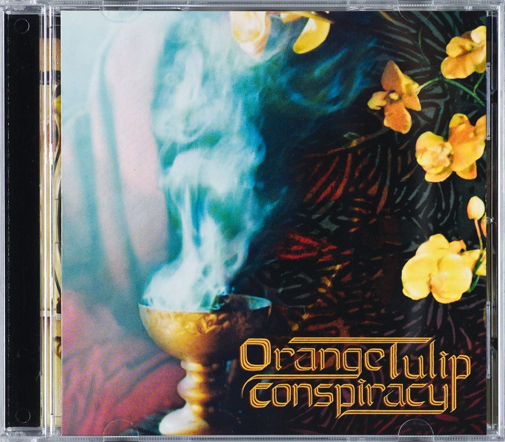 Orange Tulip Conspiracy Front Cover by butcherBaker aka Mike Bennewitz