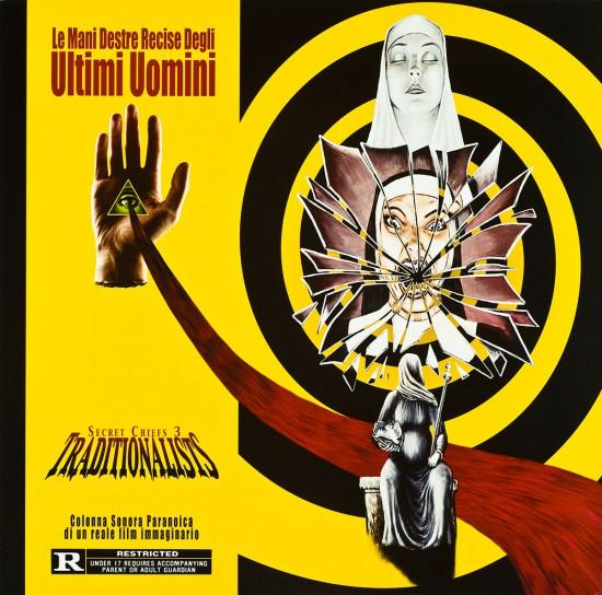 LP Cover for Secret Chiefs 3 Traditionalists: Le Mani Destre Recise Degli Ultimi Uomini by butcherBaker aka Mike Bennewitz