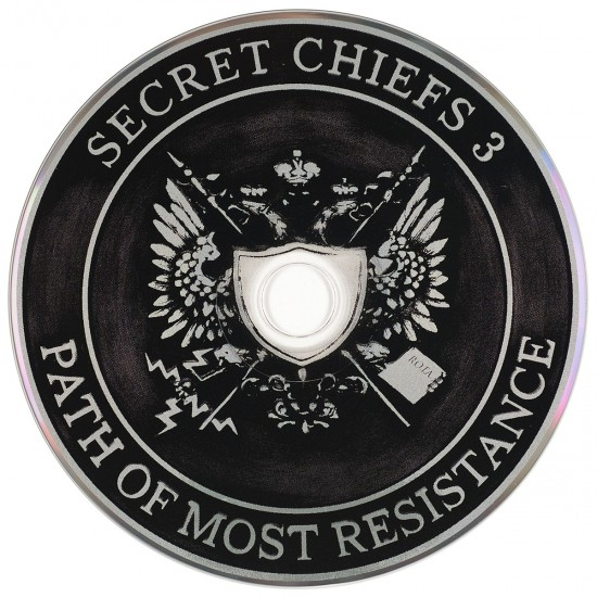 Disc for Secret Chiefs 3: Path of Most Resistance by Mike Bennewitz aka butcherBaker