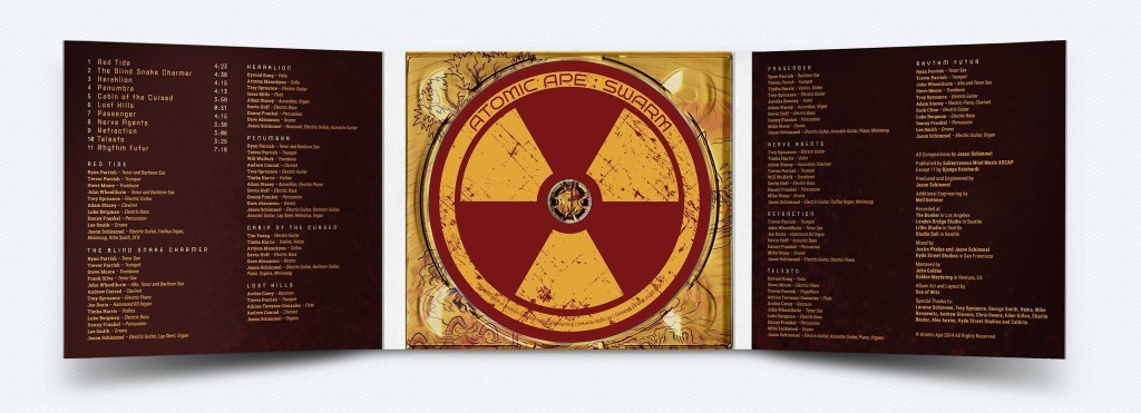 Design for Digipak and Disc ©butcherBaker