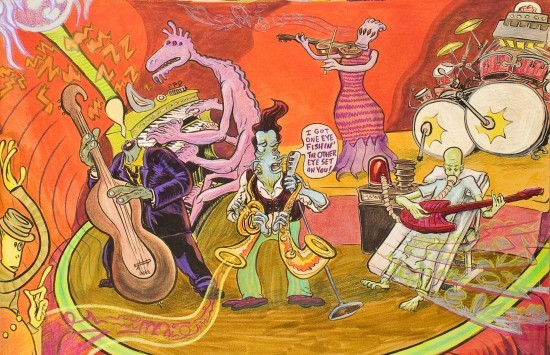 Tortoise Club Band Built By Bennewitz