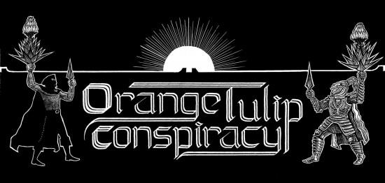 Orange Tulip Conpspiracy Monomachy graphic by Sonofwitz