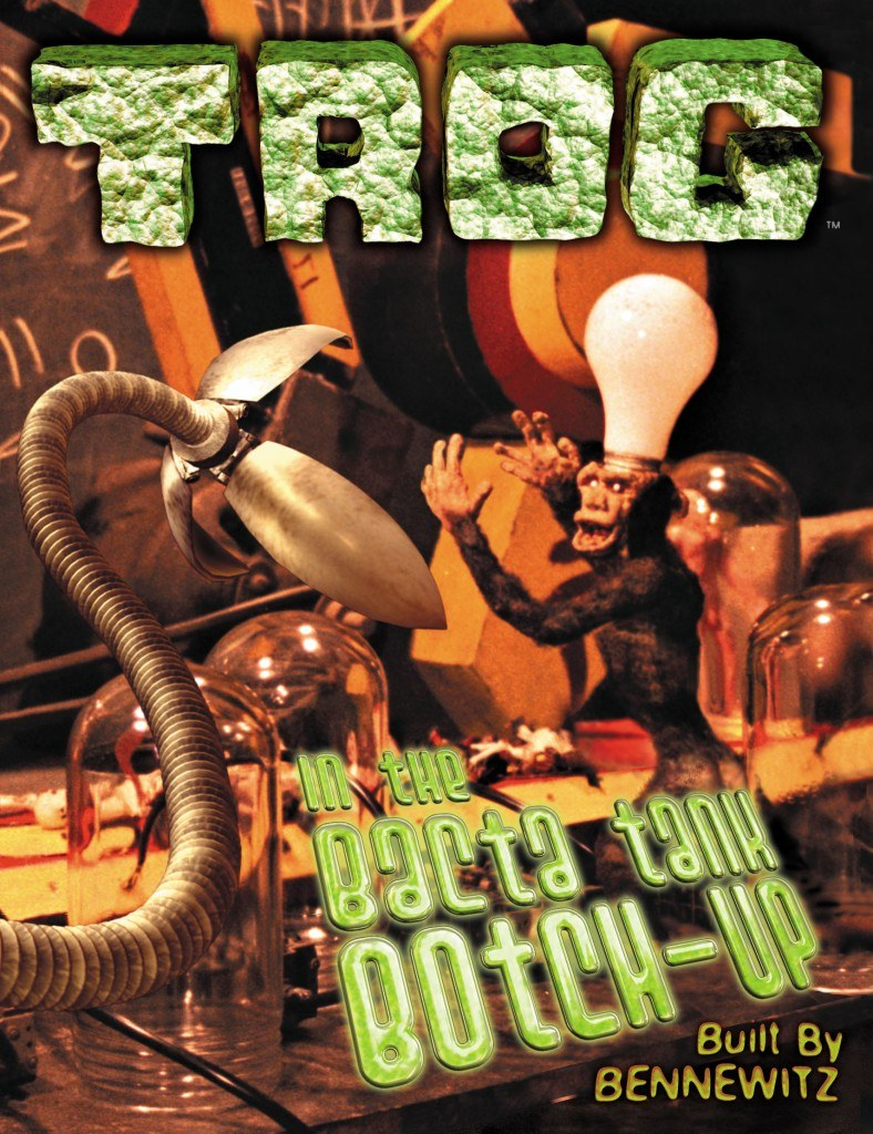 TROG In the Bacta Tank Botch-Up cover © Mike Bennewitz