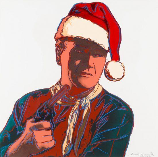 Warhol vs Son of Witz: John Wayne Santa