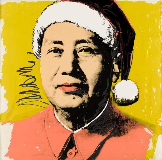 Warhol vs Son of Witz: Mao-y Xmas