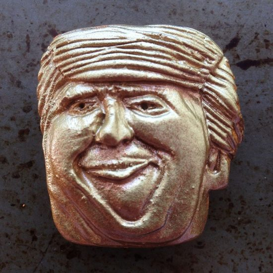 Trumpie caricature mini mask by Son of Witz ©2017